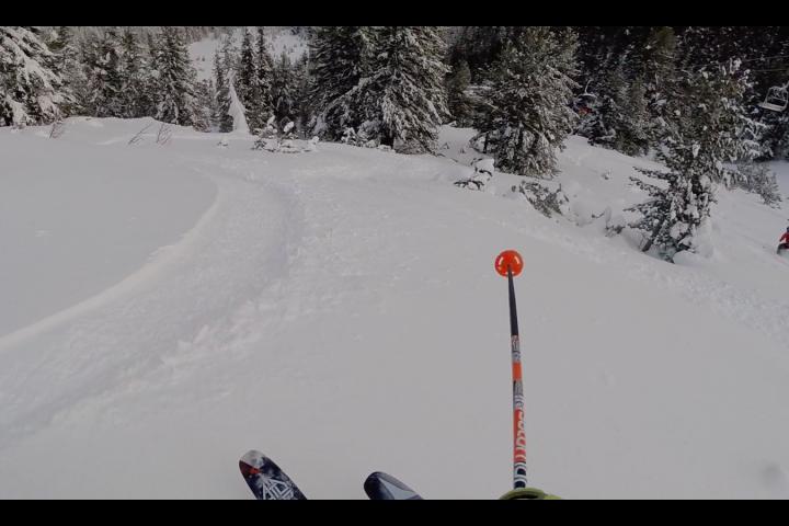 Банско - мазна врти во свеж снег