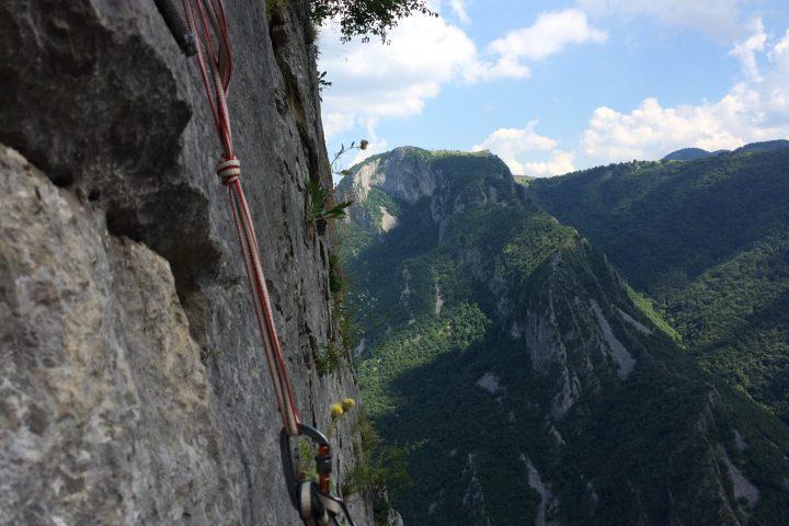 Big Wall Climbing, Central Wall Vratsa, Bulgaria