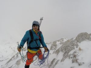 Winter climbing Djamdjiev Edge, Vihren, Pirin Mountain, Bulgaria March 2016. An Extremely Challenging Day Filled With Numerous Extreme Emotions and once again realize how important even the smallest step in Life.