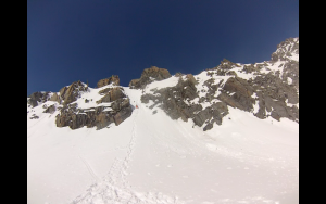 Couloir Roc Des Saints Peres