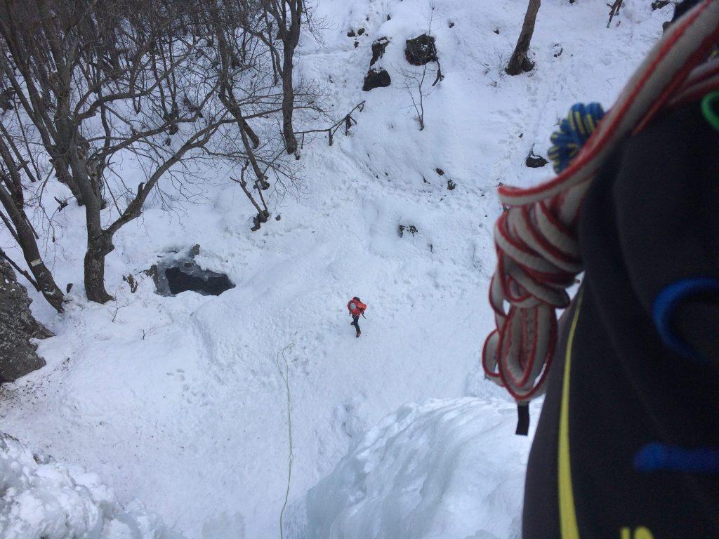 Boyana Waterfall - Ice Climbing Dec.16 - GOLIVE