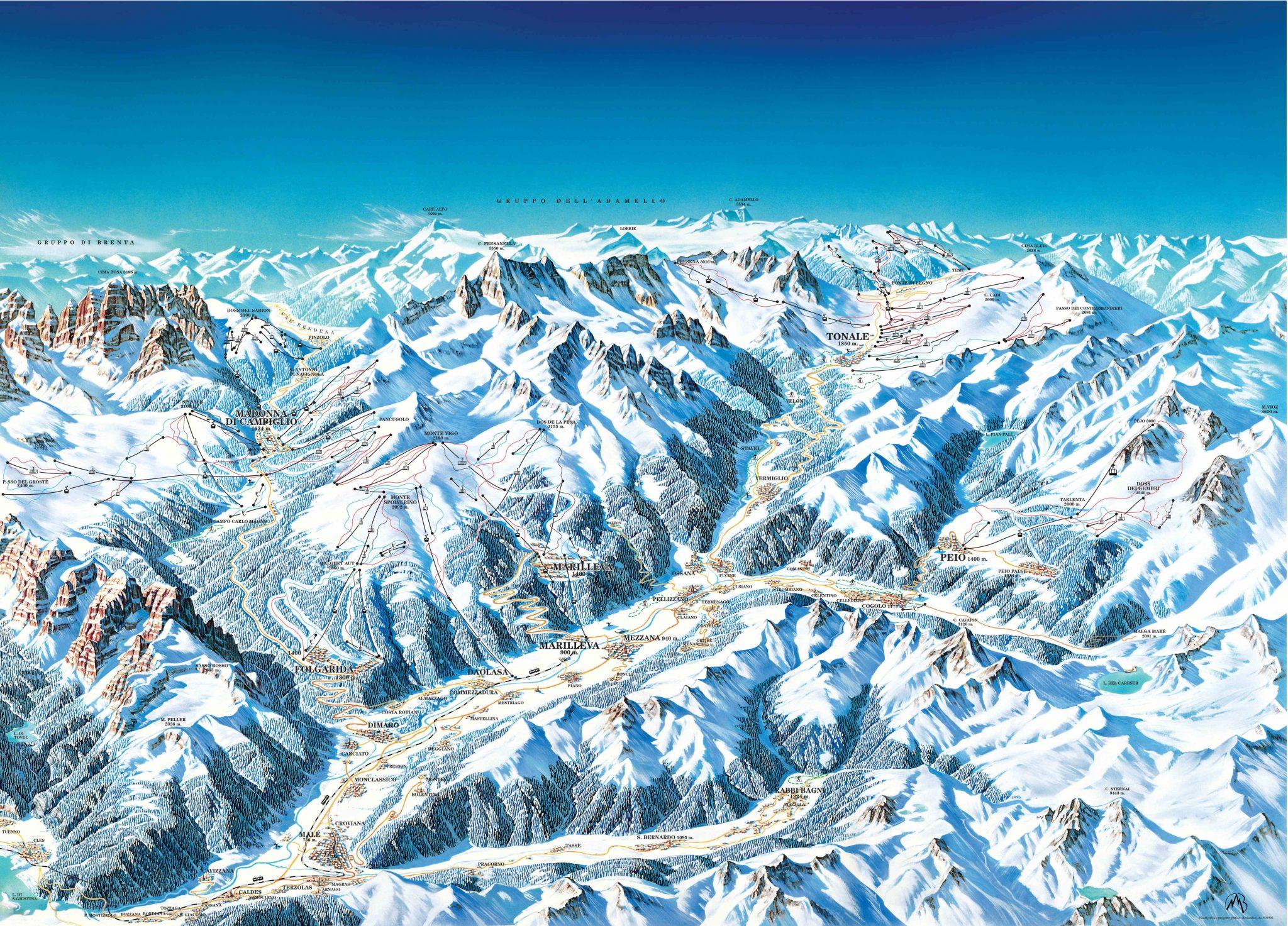 Ски в Италия goski