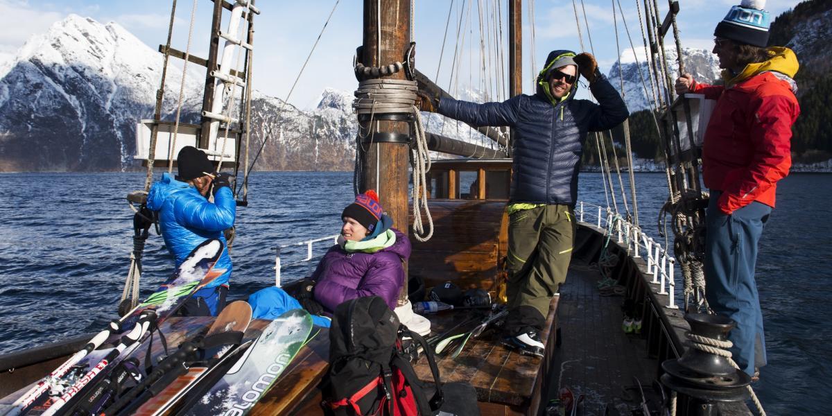 Плаване и Ски в Норвегия – Лингенските Алпи